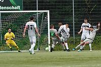 Arne Doerries(Königstädten) zieht ab - Rüsselsheim 22.08.2021: SV Alemannia Königstädten vs. SKG Stockstadt, Kreisliga A