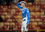 Aberdeen v St Johnstone…22.09.16.. Pittodrie..  Betfred Cup<br />David Wotherspoon reacts to his goal being disallowed<br />Picture by Graeme Hart.<br />Copyright Perthshire Picture Agency<br />Tel: 01738 623350  Mobile: 07990 594431