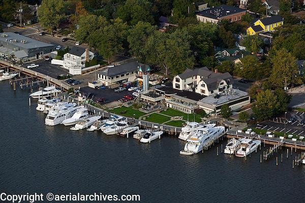 aerial photograph Saugatuck, Michigan