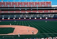 Ballparks: San Diego--Jack Murphy Stadium. 9/29/92.