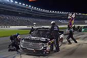 #51: Harrison Burton, Kyle Busch Motorsports, Toyota Tundra DEX Imaging, makes a pit stop