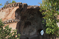 """The """"Mausoleum"""", among the ancient Roman remains in Villa Gordiani. An artistic view (Rome, 2020).<br /> <br /> Il """"Mausoleo"""", tra gli antichi ruderi Romani in Villa Gordiani. Una vista artistica (Roma, 2020)."""