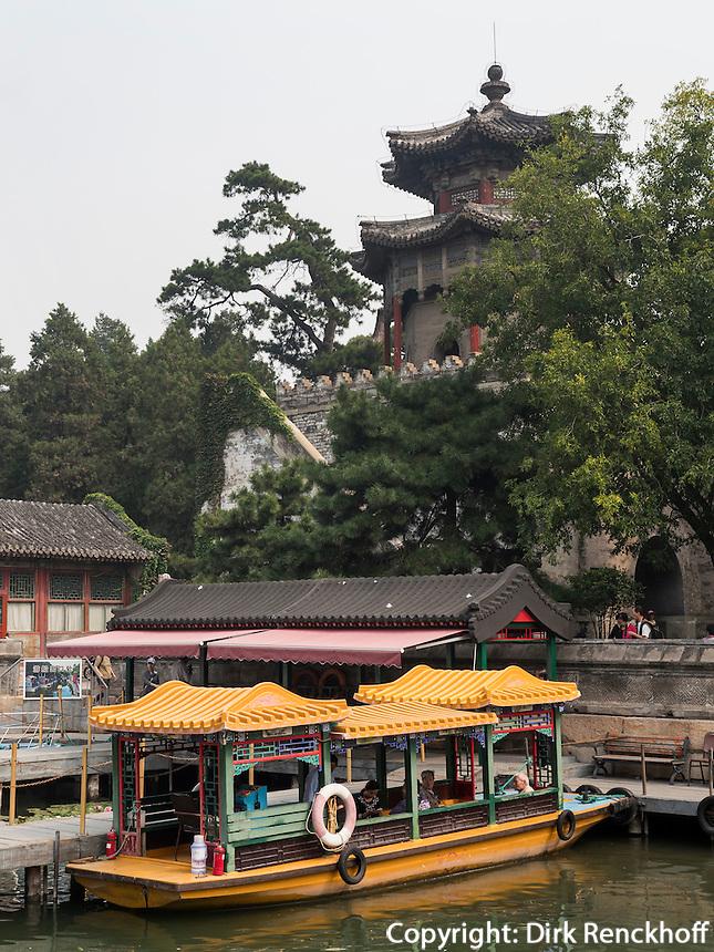 im Sommerpalast, Yi He Yuan, in Peking, China, Asien, UNESCO-Weltkulturerbe<br /> in the summerpalace, Yi He Yuan,Beijing, China, Asia, world heritage