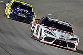 #20: Harrison Burton, Joe Gibbs Racing, Toyota Supra Dex Imaging and #19: Brandon Jones, Joe Gibbs Racing, Toyota Supra Menards Jeld-Wen
