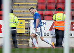 St Johnstone v Hamilton Accies…19.01.19…   McDiarmid Park    Scottish Cup 4th Round<br />Tony Watt celebrates his goal<br />Picture by Graeme Hart. <br />Copyright Perthshire Picture Agency<br />Tel: 01738 623350  Mobile: 07990 594431