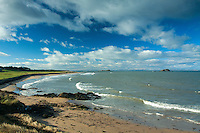 Fidra from Broad Sands near North Berwick, East Lothian