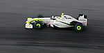 03 Apr 2009, Kuala Lumpur, Malaysia ---  Brawn GP Formula One Team driver Rubens Barrichello of Brazil on the second practice session during the 2009 Fia Formula One Malasyan Grand Prix at the Sepang circuit near Kuala Lumpur. Photo by Victor Fraile --- Image by © Victor Fraile / The Power of Sport Images