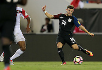Jacksonville, FL - September 6, 2016: The U.S. Men's National team go up 4-0 over Trinidad & Tobago with Paul Arriola contributing a goal during a World Cup Qualifier (WCQ) match at EverBank Field.