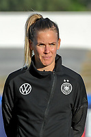 20200307  Lagos , Portugal : German midfielder Lena Petermann (27) pictured during the female football game between the national teams of Germany and Norway on the second matchday of the Algarve Cup 2020 , a prestigious friendly womensoccer tournament in Portugal , on saturday 7 th March 2020 in Lagos , Portugal . PHOTO SPORTPIX.BE | STIJN AUDOOREN