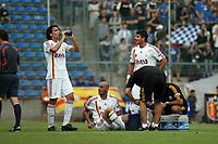 Verletzung Hasan Sas (Galatasaray)<br /> TSG 1899 Hoffenheim vs. Galatasaray Istanbul, Carl-Benz Stadion Mannheim<br /> *** Local Caption *** Foto ist honorarpflichtig! zzgl. gesetzl. MwSt. Auf Anfrage in hoeherer Qualitaet/Aufloesung. Belegexemplar an: Marc Schueler, Am Ziegelfalltor 4, 64625 Bensheim, Tel. +49 (0) 6251 86 96 134, www.gameday-mediaservices.de. Email: marc.schueler@gameday-mediaservices.de, Bankverbindung: Volksbank Bergstrasse, Kto.: 151297, BLZ: 50960101