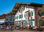 Deutschland, Bayern, Oberbayern, Oberammergau: Hotel Alte Post | Germany, Upper Bavaria, Oberammergau: Hotel Old Post
