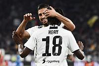 Moise Kean of Juventus celebrates with Emre Can of Juventus after scoring the goal of 1-0 <br /> Torino 30-03-2019 Allianz Stadium <br /> Football Serie A 2018/2019 Juventus - Empoli <br /> Photo  Daniele Buffa / Image Sport / Insidefoto
