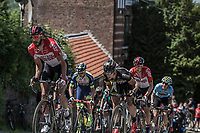 Later Stage winner Jelle Vanendert (BEL/Lotto Soudal) up the infamous Mur de Huy. <br /> <br /> Baloise Belgium Tour 2018<br /> Stage 4:  Wanze - Wanze 147.3km