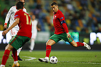 201008 -- LISBON, Oct. 8, 2020 -- Cristiano Ronaldo of Portugal competes during a football friendly match between Portugal and Spain at the Alvalade stadium in Lisbon, Portugal, Oct. 7, 2020. Photo by /Xinhua SPPORTUGAL-LISBON-FOOTBALL-FRIENDLY MATCH-SPAIN VS PORTUGAL PedroxFiuza PUBLICATIONxNOTxINxCHN <br /> Cristiano Ronaldo Nazionale Portogallo <br /> ITALY ONLY <br /> Photo Imago/Insidefoto