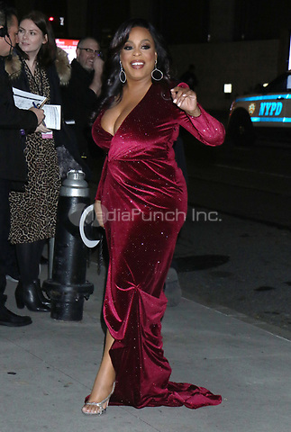 NEW YORK, NY - NOVEMBER 11: Niecy Nash at the 2019 Glamour Women of the Year Awards at Alice Tully Hal, Lincoln Center in New York City on November 11, 2019. Credit: RW/MediaPunch