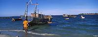 Afrique/Afrique de l'Est/Tanzanie/Dar Es-Salaam: le port de peche