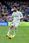 Real Madrid's Francisco Alarcon 'Isco' during La Liga match between FC Barcelona and Real Madrid at Camp Nou Stadium in Barcelona, Spain. October 28, 2018. (ALTERPHOTOS/A. Perez Meca)