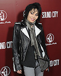 Joan Jett at The L.A.Premiere of Sound City held at The Cinerama Dome in Hollywood, California on January 31,2013                                                                   Copyright 2013 Hollywood Press Agency