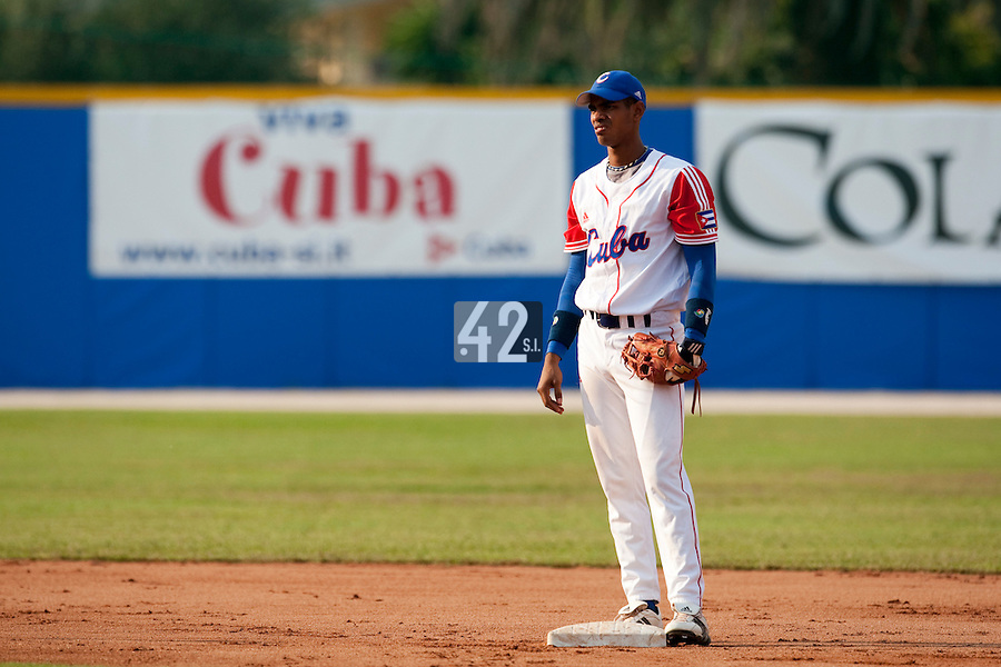 27 September 2009: during the 2009 Baseball World Cup gold medal game won 10-5 by Team USA over Cuba, in Nettuno, Italy.