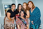Lisa O'Brien from Keel Castlemaine celebrating her 30th birthday in Bella Bia on Friday. Front: Lisa O'Brien. Back l to r: Amy Evans, Grace O'Dowd, Karen Foley and Mairead Mackessey.