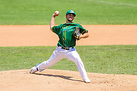 Beloit Snappers pitcher Brandon Bailey (19) delivers a pitch during a Midwest League game against the Quad Cities River Bandits on June 18, 2017 at Pohlman Field in Beloit, Wisconsin.  Quad Cities defeated Beloit 5-3. (Brad Krause/Four Seam Images)
