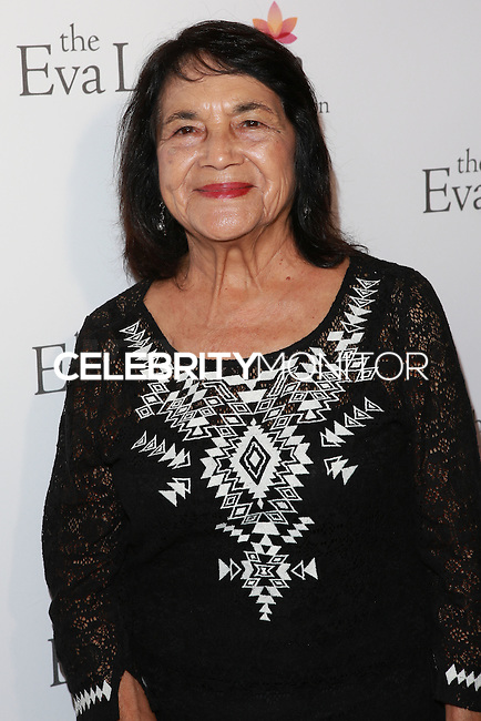 HOLLYWOOD, LOS ANGELES, CA, USA - OCTOBER 09: Dolores Huerta arrives at the Eva Longoria Foundation Dinner held at Beso Restaurant on October 9, 2014 in Hollywood, Los Angeles, California, United States. (Photo by David Acosta/Celebrity Monitor)