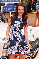 """Jess Impiazzi<br /> arrives for the premiere of """"The Nice Guys"""" at the Odeon Leicester Square, London.<br /> <br /> <br /> ©Ash Knotek  D3120  19/05/2016"""