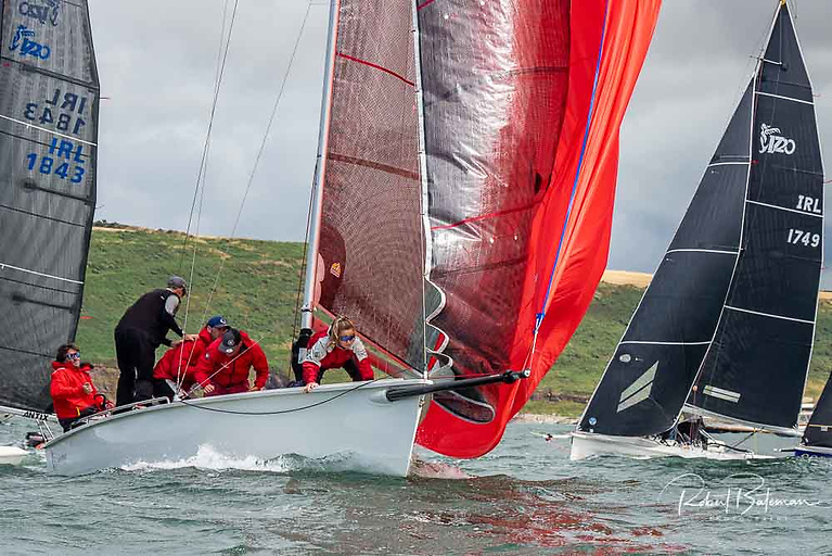 O'Leary and the Dutch Gold crew took five wins from six starts and did not need to sail the final race this afternoon atRoyal Cork Yacht Club.