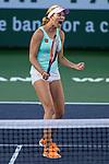 March 9, 2019: Danielle Collins (USA) defeated Kirsten Flipkens (BEL) 6-4, 6-1 at the BNP Paribas Open at the Indian Wells Tennis Garden in Indian Wells, California. ©Mal Taam/TennisClix/CSM