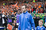 St Johnstone v Dundee United....17.05.14   William Hill Scottish Cup Final<br /> Dave Mackay walks out onto the pitch<br /> Picture by Graeme Hart.<br /> Copyright Perthshire Picture Agency<br /> Tel: 01738 623350  Mobile: 07990 594431