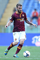 ROME, Italy - September 1, 2013: Roma beats Verona 3-0 during the Serie A match in Olimpico Stadium.