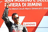 Franco Morbidelli , MotoGP race, San Marino MotoGP, 13 September 2020<br /> Misano 13/09/2020 Moto Gp San Marino e Riviera di Rimini <br /> Photo David Goldman / Gold and Goose Photography Petronas Press Office / Insidefoto<br /> EDITORIAL USE ONLY