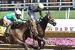 July 18, 2015: Scatajawea, Maria Remedio up, wins race 6, a six-furlong maiden claiming race for fillies and mares three and upward at Delaware Park in Stanton DE.  Wayne Potts trains the Scat Daddy filly. Joan Fairman Kanes/ESW/CSM