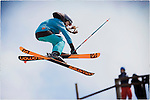 Pix: Shaun Flannery/shaunflanneryphotography.com<br /> <br /> COPYRIGHT PICTURE>>SHAUN FLANNERY>01302-570814>>07778315553>><br /> <br /> 19th April 2015<br /> British Freeski Camp<br /> Halifax Ski Slope.<br /> Mille Wilkinson