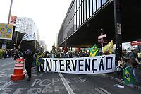 28.05.2018 - Protesto á favor dos Caminhoneiros e a Intervenção Militar em SP