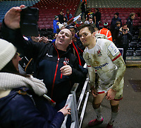 Friday 13th December 2019 | Harlequins vs Ulster Rugby<br /> <br /> Jacob Stockdale after the Heineken Champions Cup Round 4 clash in Pool 3, between Harlequins and Ulster Rugby and Harlequins at The Stoop, Twickenham, London, England. Photo by John Dickson / DICKSONDIGITAL