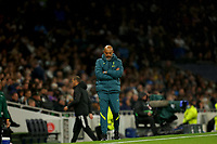 30th September 2021; Tottenham Hotspur Stadium. Tottenham, London, England; UEFA Conference League football, Tottenham v NS Mura: Tottenham Hotspur Manager Nuno Espírito Santo studies play