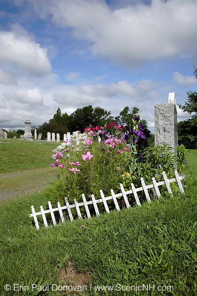 South Cemetery in Portsmouth, New Hampshire USA, which is part of scenic New England