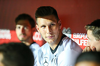 Niklas Suele #17 (Germany) substitution bench, Tschechische Republik vs. Germany, Football, WM-Qualifikation, 01.09.2017 *** Local Caption *** © pixathlon<br /> Contact: +49-40-22 63 02 60 , info@pixathlon.de