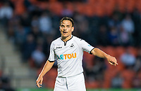 Roque Mesa of Swansea City during the 2017/18 Pre Season Friendly match between Barnet and Swansea City at The Hive, London, England on 12 July 2017. Photo by Andy Rowland.