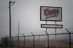 Coors Light.<br /> Alpine, Texas. 01.01.2019<br /> Photo by Thierry Gourjon.