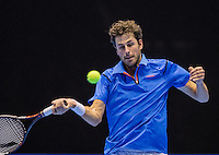 Rotterdam, Netherlands, December 18, 2016, Topsportcentrum, Lotto NK Tennis, Robin Haase (NED)<br /> Photo: Tennisimages/Henk Koster