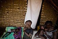 a refugee family