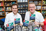 DavId Elton and Donnacha Clifford pictured at the launch of their book 'Cycling Kerry' at O'Mahony's Book Shop on Friday evening last.
