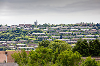 Pictured: Part of the Mayhill and Townhill areaa in Swansea, Wales, UK. Wednesday 16 June 2021<br /> Re: Riot aftermath in the Mayhill area of Swansea, Wales, UK.