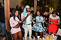 MIAMI BEACH, FL - APRIL 18: Nina Rari, Brother POLIGHT, Nysuttet Amunet Atum-Re and Raliat Savage attend Jake Paul afterparty hosted by Celebrity Sports Entertainment (CSE) at The Villa Casa Casuarina At The Former Versace Mansion on April 18, 2021 in Miami Beach, Florida. Jake Paul made an appearance to his afterparty to celebrate his win after defeating Ben Askren in a first round TKO bout yesterday inside Mercedes-Benz Stadium in Atlanta.  ( Photo by Johnny Louis / jlnphotography.com )