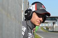 Formule 1: Test  Jerez 06/02/2013.ESTEBAN GUTIERREZ (MEX) - SAUBER F1 C32 - AMBIANCE PORTRAIT  .Jerez 06/02/2013 .Formula 1 2013 Test.Foto Gilles Levent / Panoramic / Insidefoto .ITALY ONLY