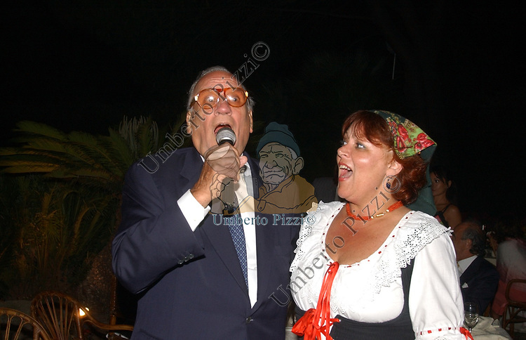 ALFREDO BIONDI <br /> SERATA A CASA JANNOZZI ROMA 2004