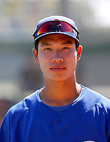 Kyung-Min Na - Chicago Cubs 2009 Instructional League. .Photo by:  Bill Mitchell/Four Seam Images..