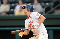 August 25, 2009: Infielder Alex Hassan (2) of the Greenville Drive, 2009 20th round draft pick of the Boston Red Sox out of Duke University, in a game at Fluor Field at the West End in Greenville, S.C. Photo by: Tom Priddy/Four Seam Images